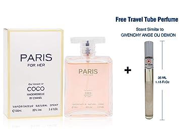 coco mademoiselle chanel paris eau de parfum