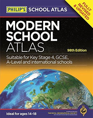 Philip's Modern School Atlas (Philip's School Atlases)