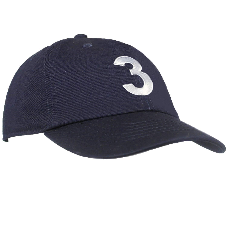 Adjustable Navy Hat Monogrammed Toddler /& Kids Baseball Cap Tiny Expressions