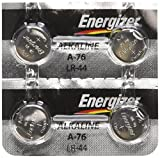Health & Personal Care : Energizer LR44 1.5V Button Cell Battery (4-Pack)