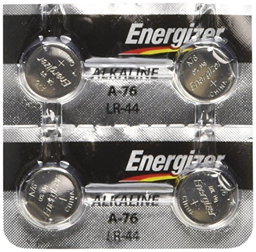 2 Quart Replacement - Energizer LR44 1.5V Button Cell Battery (4-Pack)