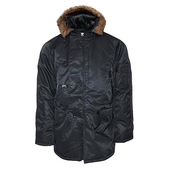 Mil-Tec US FLIEGERJACKE CWU BASIC OLIV Outdoorjacke Jacke