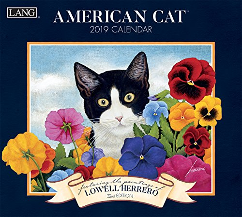 The LANG Companies American Cat 2019 Wall Calendar (Lowell Herrero American Cat)