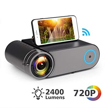 XINHUANG Mini LED Proyector 720P Nativo 1280x720 Portátil ...