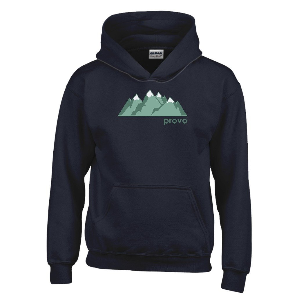 Tenn Street Goods Provo Mountain Range Youth Hoodie Utah Kids Sweatshirt
