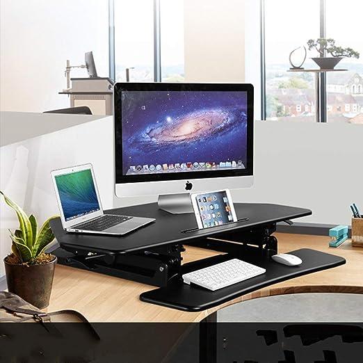 BAIF Stand del Escritorio de la computadora en pie Mesa de pie en ...