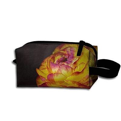 SANDADB Blooming Flowers 3D Printed Woman Custom Cartoon Portable Storage Bag