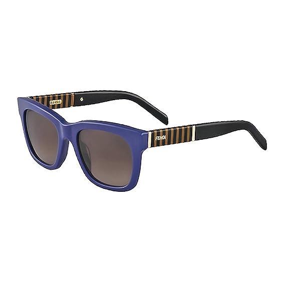 db291611a4a Fendi 5351 Womens   Ladies Designer Sunglasses - Blue  Amazon.co.uk ...