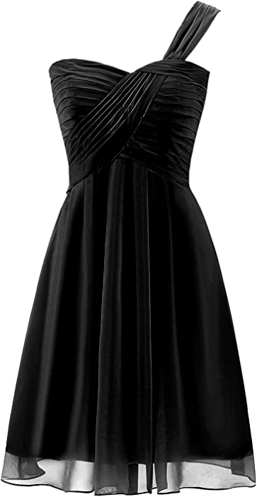 9854f855bc38 Belle House Black Homecoming Dresses For Juniors 2018 Short Prom Dresses  One Shoulder Cocktail Dress