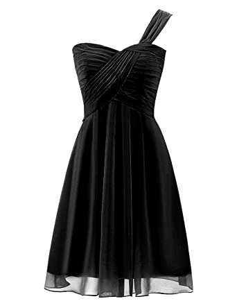 One Shoulder Cocktail Dresses for Juniors