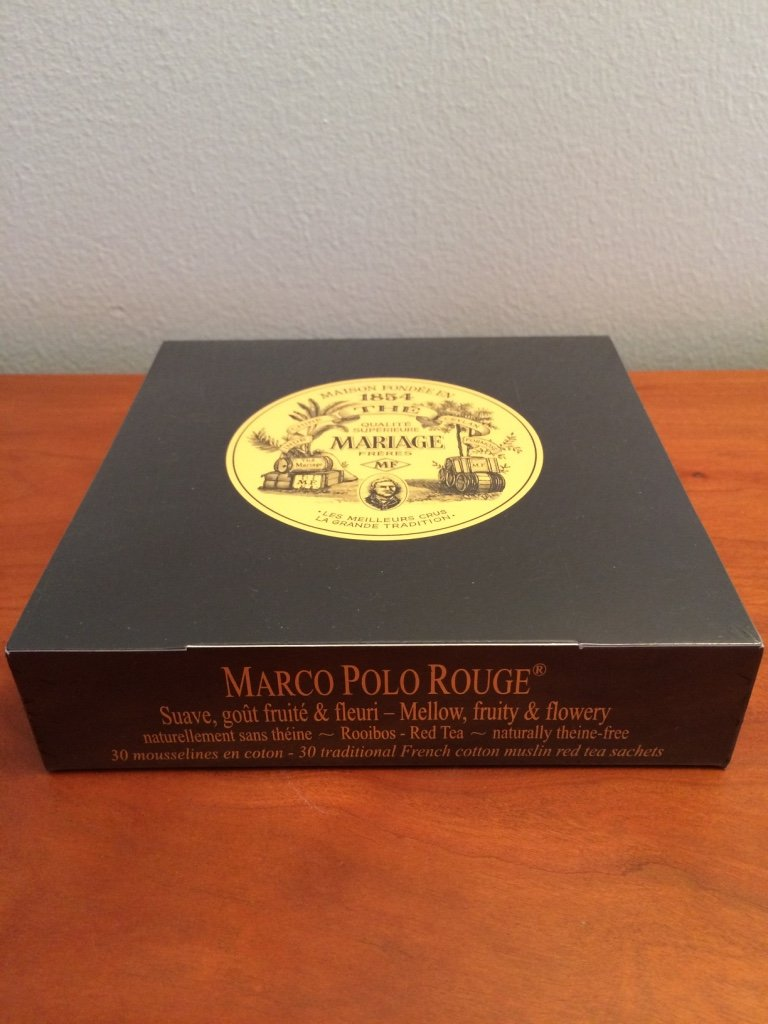 Très Amazon.com : Mariage Frères - MARCO POLO ROUGE® - Box of 30  RF69