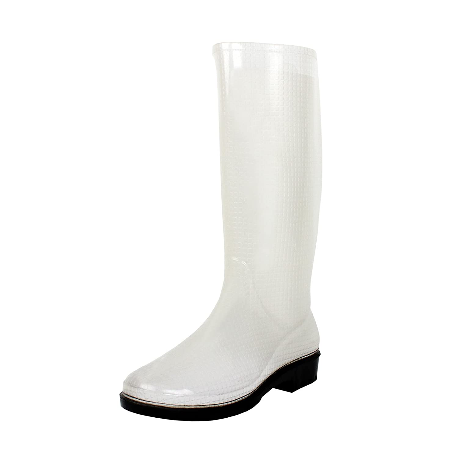 West Blvd Women's Mid Calf Waterproof Rainwear Rainboots B014ID1EMC Rainwear Waterproof df9fa1