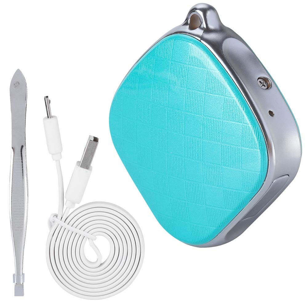ASHATA Mini GPS Tracker Traceur GPS, Mini localisateur Mini traqueur Locator Anti-Perdu, Tracker Personnes GPS + GSM + LBS + WiFi pour Personnes âgées/Enfants
