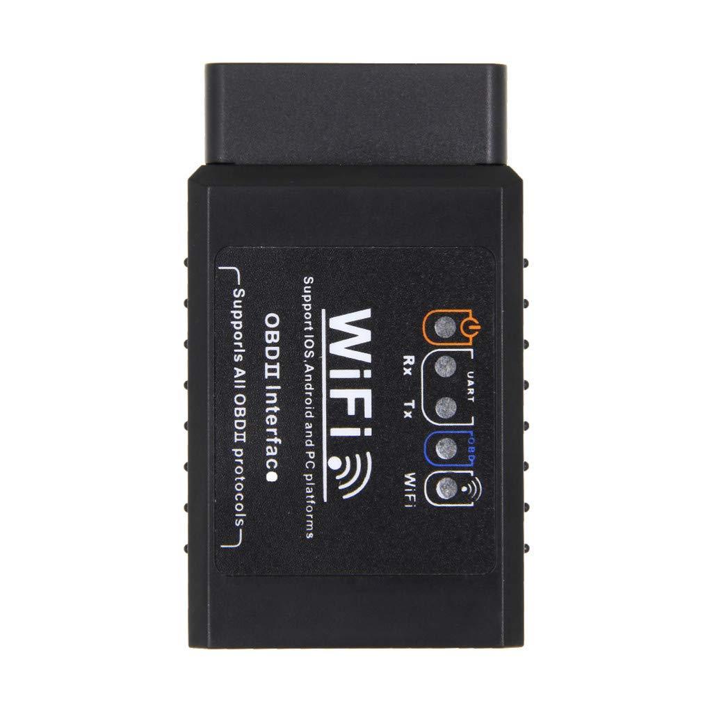 Codiak OBD2 Bluetooth WiFi 16PIN Car Auto Diagnostic Car Accessories Interface Scanner ST (BK)