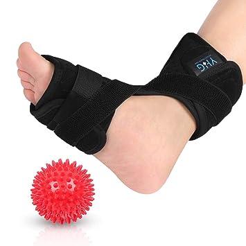 b2e82bd63051 Plantar Fasciitis Foot Splint, Night Dorsal Splint Foot Support Arch Orthotic  Brace with Spiky Massage