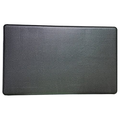 Art3d anti Fatigue Mat Kitchen Comfort, Cushion Chef Rug Standing Floor Mat, Black