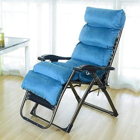Dsrgwe Tumbonas Jardin Plegable, Sillas reclinables reclinables y reclinables para hamacas al Aire Libre Patio de jardín Relajante con cojín (Color : G): Amazon.es: Hogar