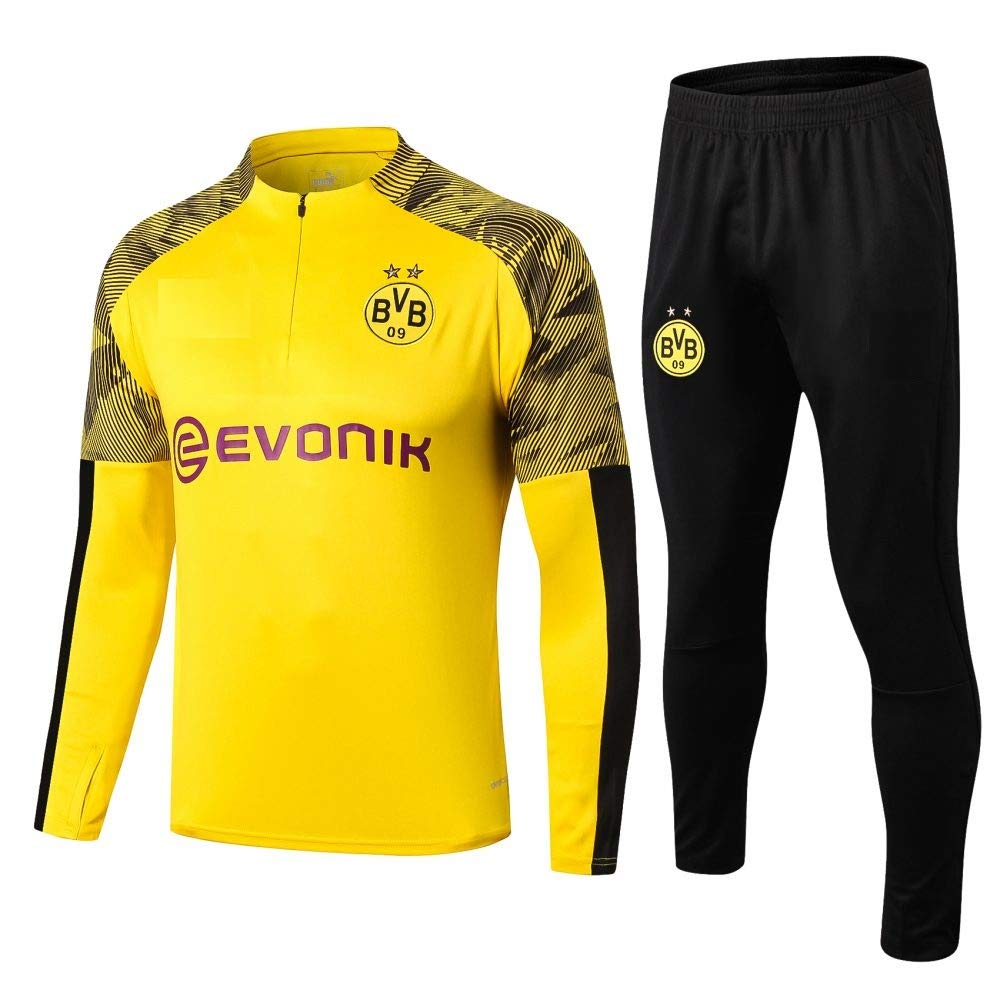 Golden Fashion Borussia Dortmund Yellow Tracksuit Unisex 2019 20 Xl Amazon In Sports Fitness Outdoors