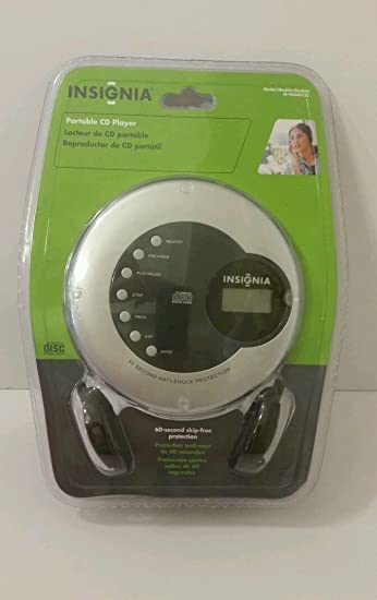 amazon com insignia portable cd player is pa040722 with headphones rh amazon com Portable CD Player for Car insignia ns-p5113 portable cd player manual