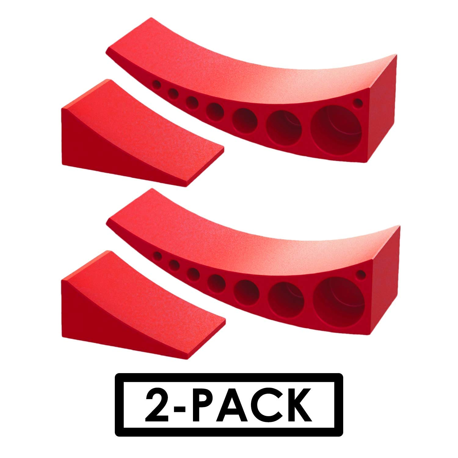 2-Pack Camper Leveler, Chock Kit | Andersen 3604 x2 | Less Than 5 Minutes to Level Your Camper or Trailer | Levelers for RV | Simply Drive On. Chock. Done. | Faster and Easier Than RV Leveling Blocks! by Andersen Hitches