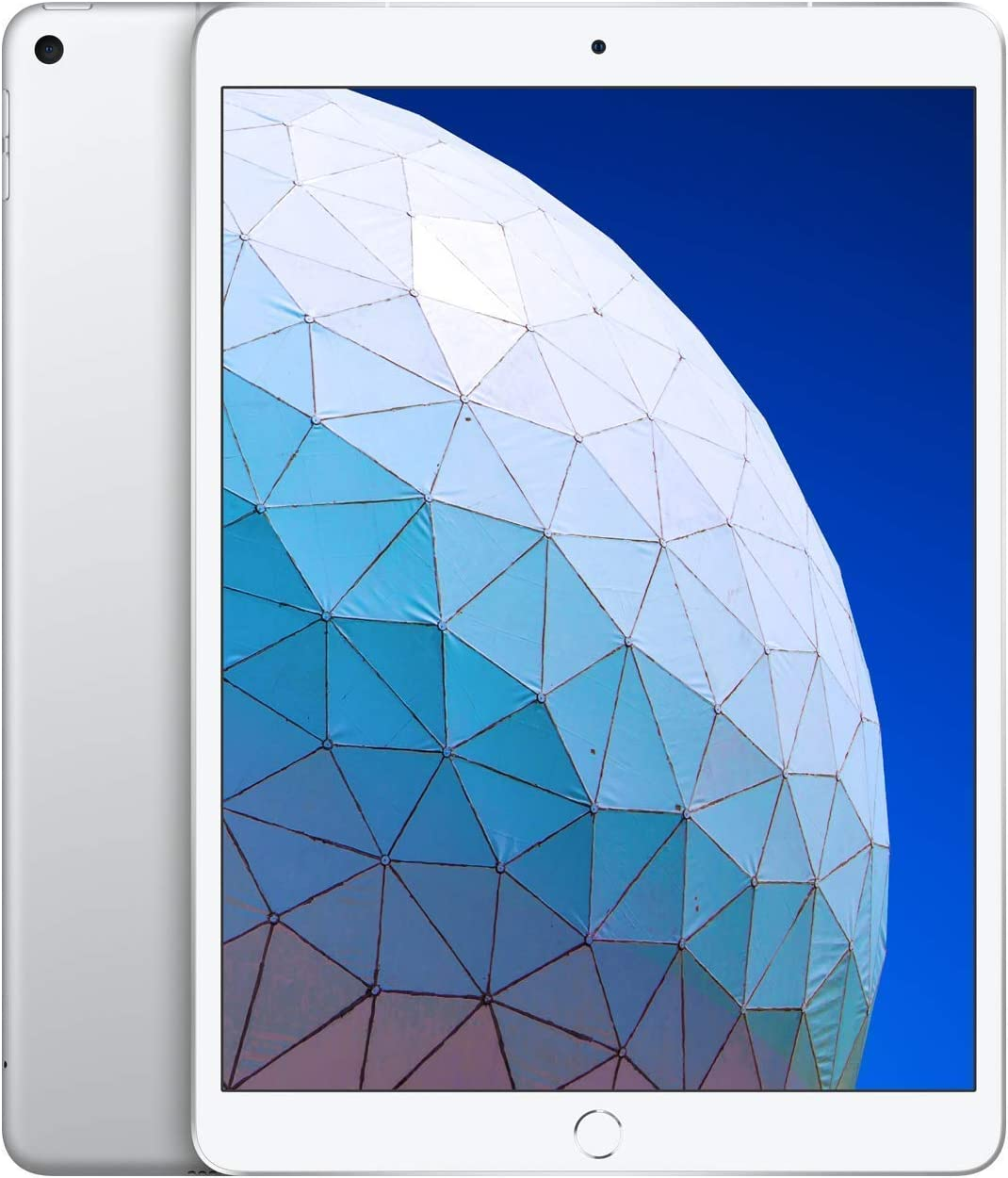 Apple iPad Air (10.5-Inch, Wi-Fi + Cellular, 64GB) - Silver (3rd Generation) (2019) (Renewed)