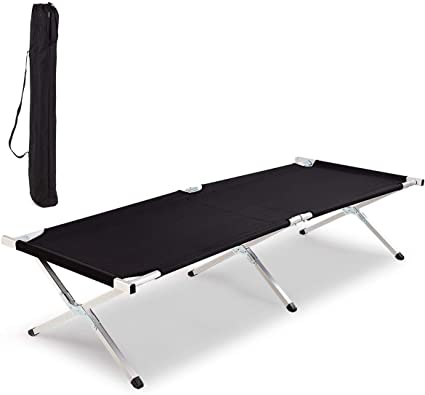 OutdoorGear 4 Leg Collapsible Camp Bed