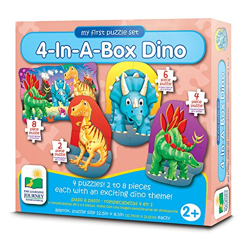 Dinosaur Puzzle Set (The Learning Journey My First Puzzle Sets 4-In-A-Box Puzzles, Dino)