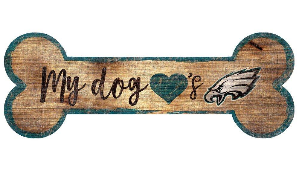 Fan Creations Philadelphia Eagles Dog Bone Sign Multi