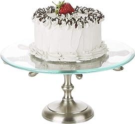 8afc6bc13629e Mind Reader WHEELCAKE-SIL 20 Inch, Party Cake, Cupcake Stand Holder, Dessert