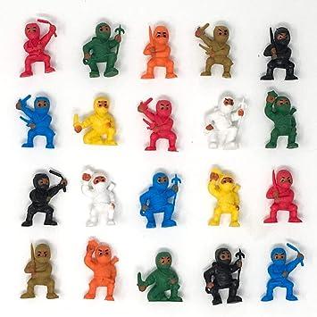 Amazon.com: Ninja Party Favors Lote de 20: Toys & Games