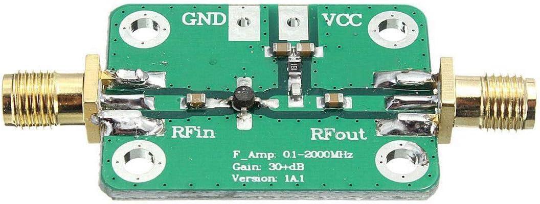 0.1-2000MHz 30dB Low Noise RF Amplifier LNA Broadband Module Receiver J5D2