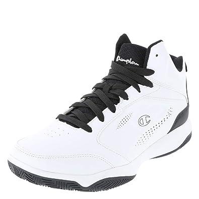 710ed50b121 Champion White Black Men s Contender Basketball Shoe 6 Regular ...