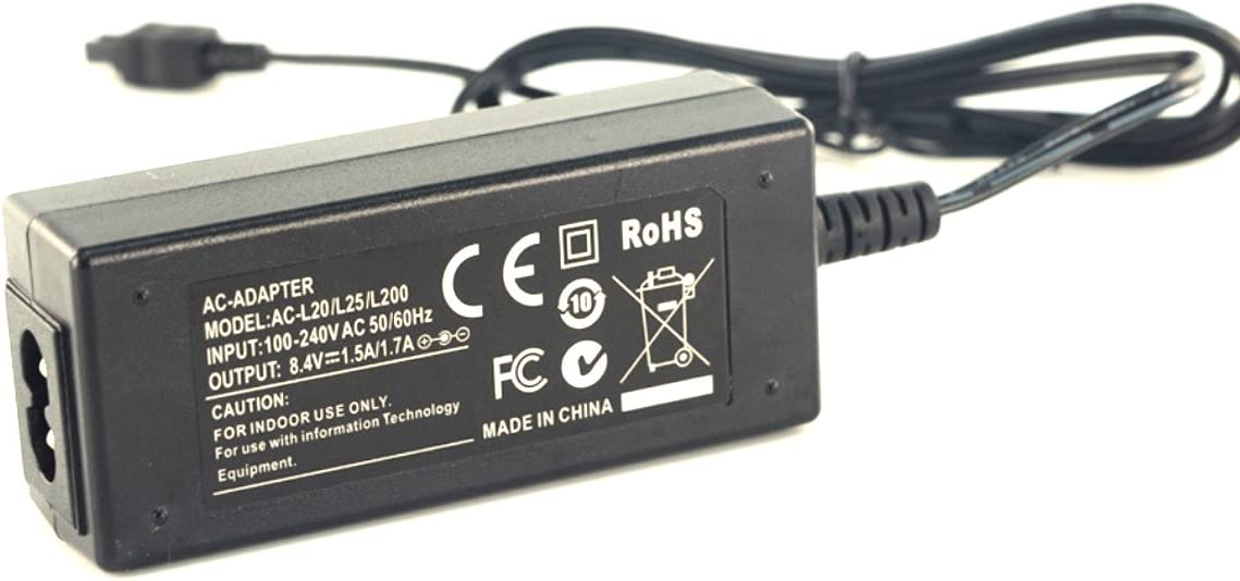 AC Power Adapter Charger for Sony HDR-PJ200 HDR-PJ220 HDR-PJ230 HDR-PJ260V Handycam Camcorder