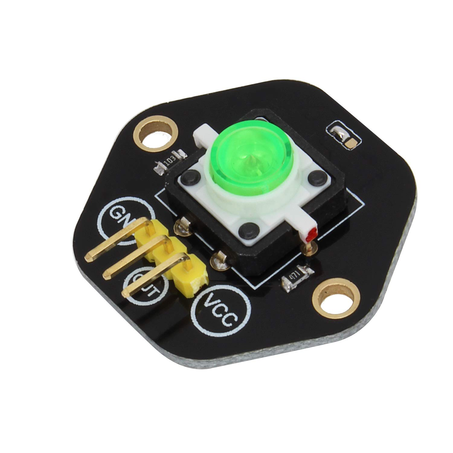 FOR-Arduino Arduino Kits LDTR-RM012//K Digital Push Button with LED/ Indicator/ Light Module Kit
