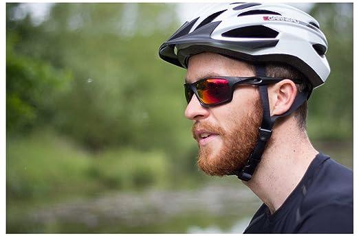 3f7bd1a509d FWE Helios Revo Hydrophobic Anti Fog UVA UVB Protection Cycling Sunglasses  Orange Black  Amazon.co.uk  Sports   Outdoors