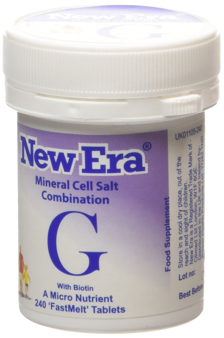 New Era Combination G Mineral Cell Salts 240 Tablets: Amazon.es ...