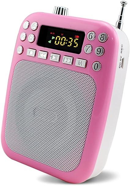 Newgood Portable Rechargeable Mini Voice Amplifier Digital Player Ultralight PA