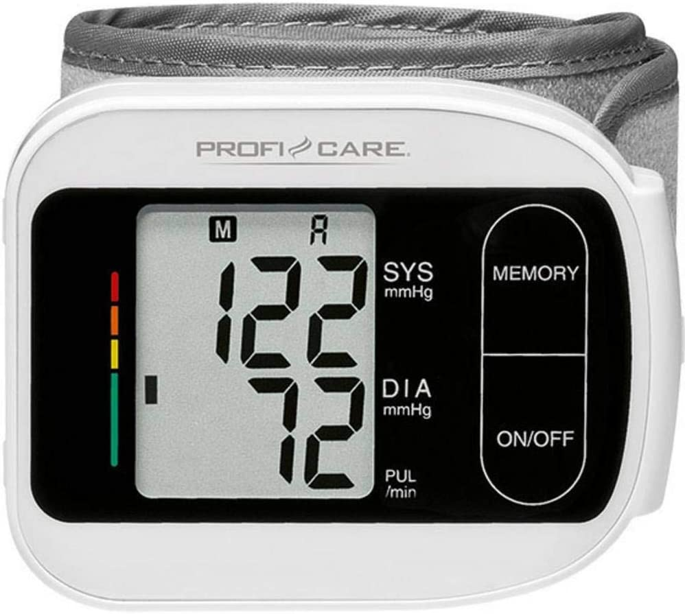 Profesional Care 330180 PC de BMG 3018 Tensiómetro de muñeca ...