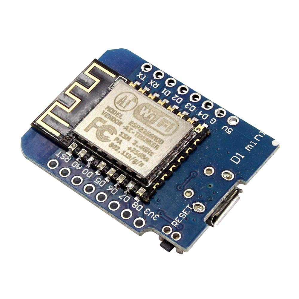 ROKOO D1 Mini - ESP8266 ESP12 NodeMcu Dev-Kit WiFi Modul Board WeMos para Arduino 1ej4lw8qk9lw0cb2