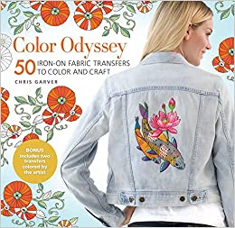 Amazon Com Color Odyssey 50 Iron On Fabric Transfers To Color And