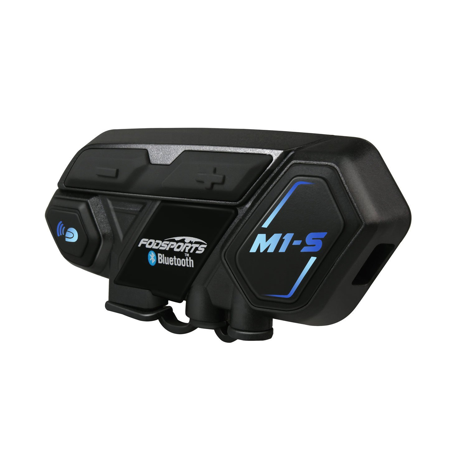 M1S Motorcycles Bluetooth Intercom Headset Communication System Accessories Kit (Hard Microphone and Soft Microphone) Fodsports