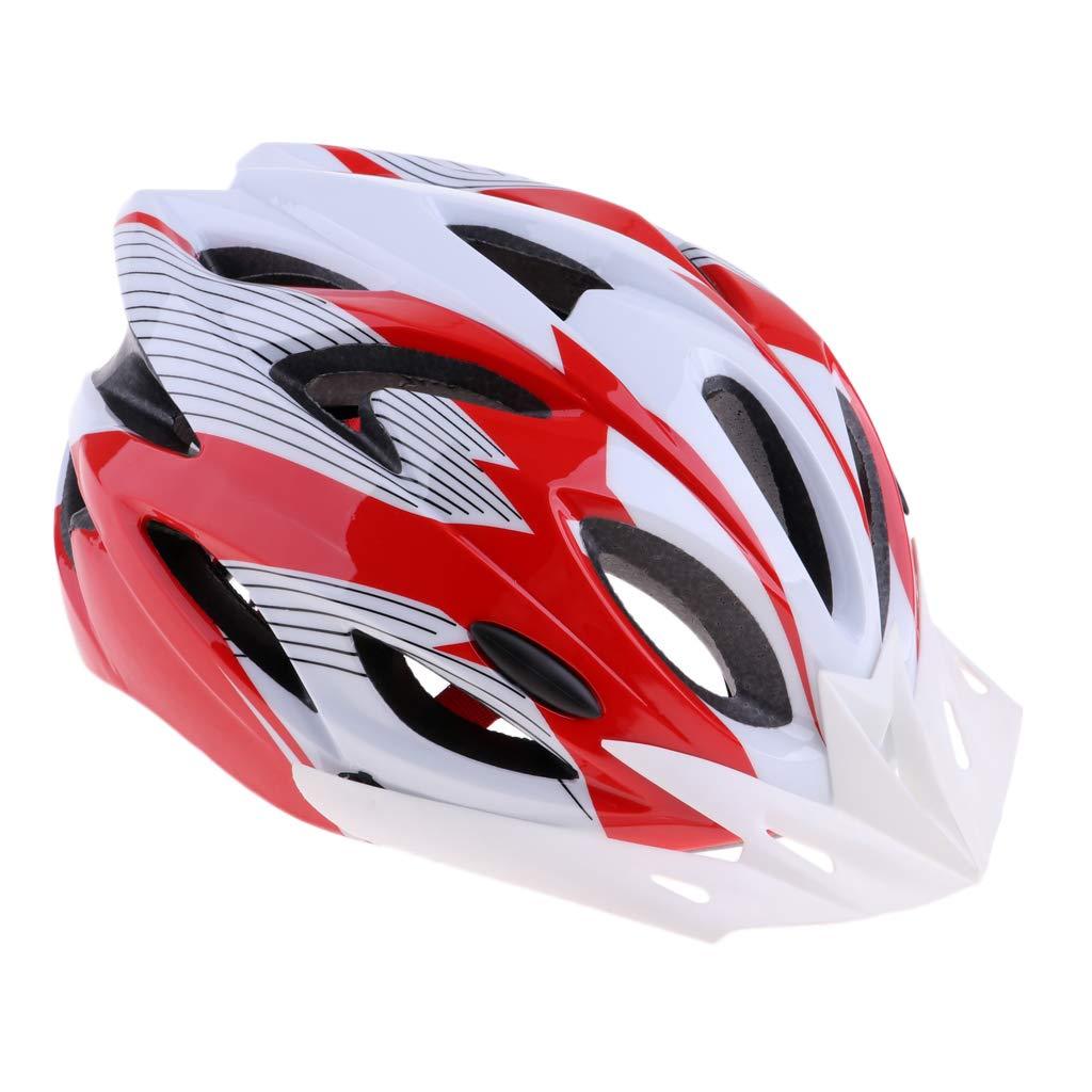 SM SunniMix PC Ultralight Airflow Bike Helmet Men Women Mountain Bicycle Cycling Helmet with 18 Vents - Black Blue