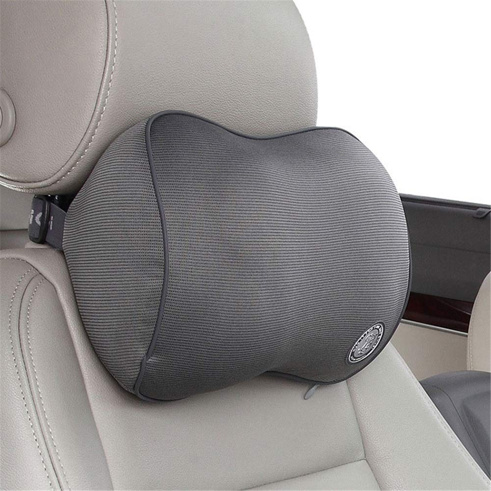 Car Neck Pillow Memory Foam Car Seat Neck Pillow Headrest Cushion for Neck Relief Cervical Support with Washable Cover Memory Foam and Ergonomic Design for Driving, Travel, Home and Office