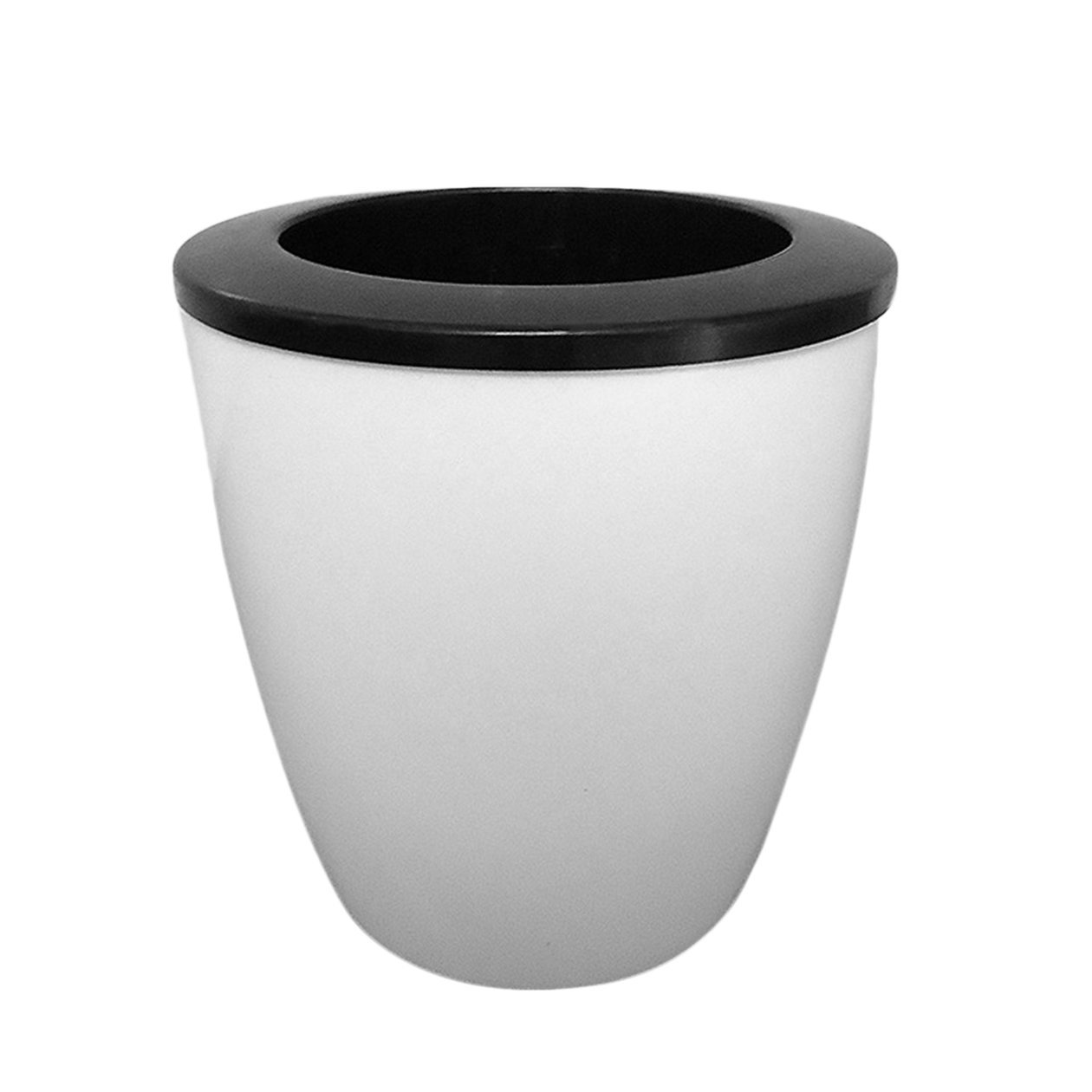 PassionSell Automatic Indoor Self-Watering Flower Pot Put In Soil ...