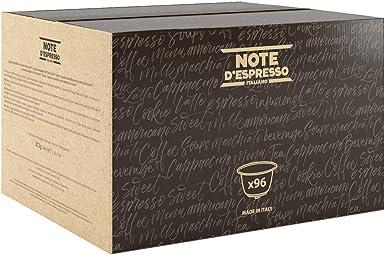 Note DEspresso - Cápsulas de café Amabile Exclusivamente Compatibles con cafeteras de cápsulas Nescafé* y Dolce Gusto* 7 g (caja de 96 unidades): Amazon.es: Alimentación y bebidas