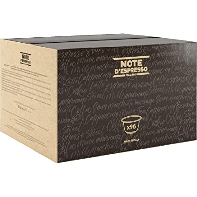 Note D'Espresso - Cápsulas de café Amabile Exclusivamente Compatibles con cafeteras de cápsulas Nescafé* y Dolce Gusto* 7g (caja de 96 unidades)