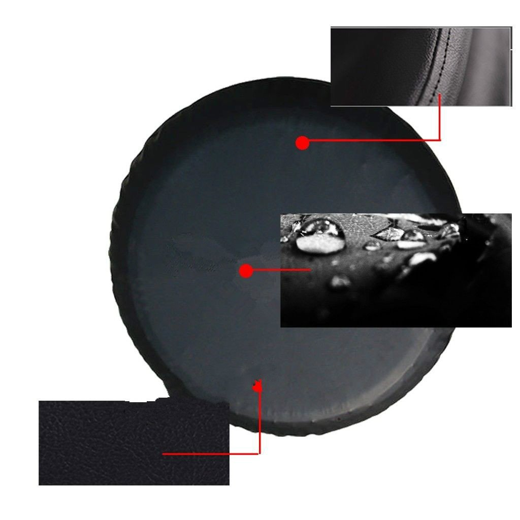 Fit for 13 14 15 16 17 inch Truck Camper Van Auto Car Wheel Diameter B Baosity Spare Tire Covers 17 Waterproof UV Sun RV Trailer Tire Protectors Camo