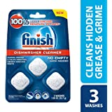 Finish in-Wash Dishwasher Cleaner: Clean Hidden Grease & Grime, 3ct