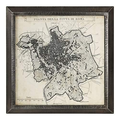 Uttermost City Plan of Rome Print Map 41494