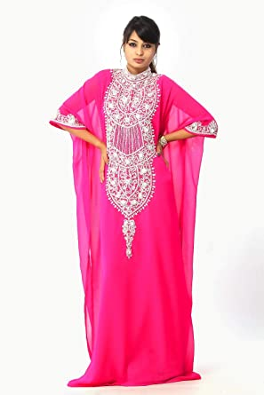Maxi Dress Long Dress Abaya Jalabiya Wedding Kaftans Womens Kaftan ...